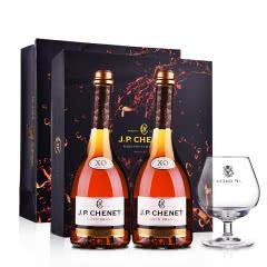 【礼盒】40°法国香奈XO白兰地700ml高端双支礼盒(含酒杯)