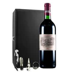(列级庄·名庄·正牌)法国拉菲酒庄2004干红葡萄酒750ml(又译大拉菲、拉菲城堡)