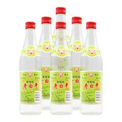 62°衡水衡记老白干传统版500ml(6瓶装)