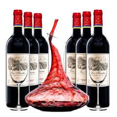 进口红酒 拉菲葡萄酒智利进口巴斯克花园珍藏 ASC正品行货 整箱 750ml(6瓶装)