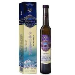 新疆特产 伊珠白冰葡萄酒12度375ml新疆伊珠冰白甜白葡萄酒 一瓶