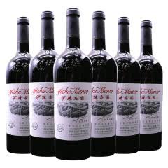 新疆红酒 伊珠丝路珍藏金典干红葡萄酒13度750ml新疆伊犁红酒 6瓶整箱