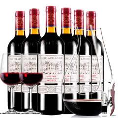 拉斐庄园2009珍酿原酒进口红酒珍藏干红葡萄酒红酒整箱醒酒器装750ml*6