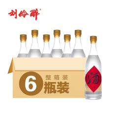 60° 刘伶醉 酒 500ml*6