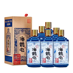 【酒厂直营】53° 贵州 海龙屯 (原浆)酱香型白酒 500ml*6