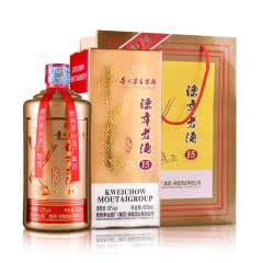 52°茅台集团陈年老酒(15)流沙金500ml 单瓶装 浓香型白酒