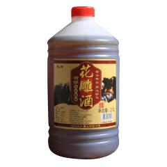 绍兴黄酒五年陈2.5L5斤桶装壶装半干型花雕米酒糯米加饭老酒 自饮烹饪料酒泡阿胶做入药包邮
