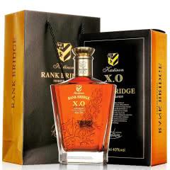 法国原瓶进口 洋酒 XO 正品凯斯帝隆 白兰地 威士忌 洋酒 礼盒套装 700ml 单瓶礼