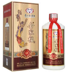 52°茅台集团技术开发公司全家福酒A8浓香型白酒500mL