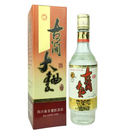 老酒 郎酒厂56±1度古蔺大曲500ml(1992年)