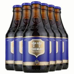 比利时进口智美蓝帽修道院精酿啤酒330ml(6瓶装)