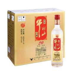 42°牛栏山二锅头(20)二十珍品陈酿 土豪金(红色标)500ml*8瓶 白酒整箱