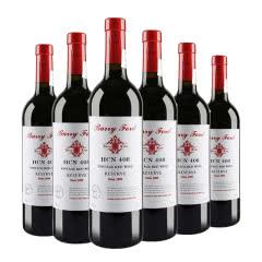 澳洲红酒HCN奔富408西拉佳酿2009干红葡萄酒 750ml*6支整箱装(京东配送)