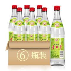 62°衡水衡记老白干绿标传统版500ml(6瓶装)
