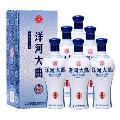 42°洋河大曲蓝瓷浓香型白酒500ml(6瓶装)