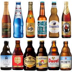 欧洲进口福佳1664智美督威白熊等精酿啤酒组合12瓶