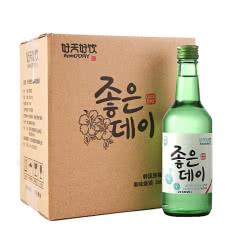 韩国进口好天好饮16.9度烧酒360ml*6 整箱装