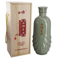 嘉兴黄酒10°西塘老酒20年木礼盒单坛价手工二十年陈酿2500ml