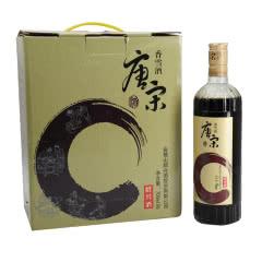 绍兴黄酒15°唐宋香雪酒700ml*6瓶整箱价糯米酒甜型酒