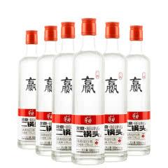 【酒厂直营】53度 华都 北京二锅头(一起赢) 清香型白酒 500ml*6
