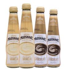 曼雪法式香草味伏特加预调酒200ml*2瓶+曼雪巧克力味伏特加预调酒200ml*2瓶