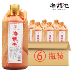 海龙屯53°酱香型白酒(佳酿)500ml*6瓶整箱装特价
