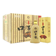 40.8°口子窖5年型 兼香型白酒400ml*4(整箱装)
