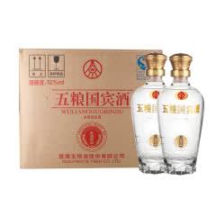 52°五粮国宾酒鉴赏版浓香型500ml*6(整箱装)