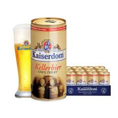 Kaiserdom凯撒顿姆德国进口窖藏啤酒1L(12罐装)