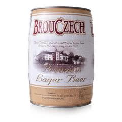 布鲁杰克捷克原装进口拉格啤酒桶装5L