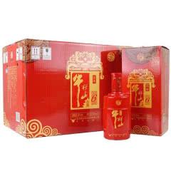 35°牛栏山二锅头红6年百年红六年喜庆婚宴白酒500ml*6瓶 整箱