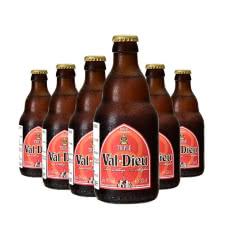 瓦图比利时修道院三料啤酒330ml(6瓶)