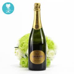 【蕰妮】法国美多起泡酒进口起泡酒原装半干白葡萄酒聚会红酒(单瓶装)