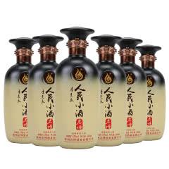 53°贵州岩博 人民小酒经典 清酱香型白酒500ml*6瓶 整箱