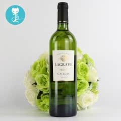 【蕰妮】法国原瓶进口红酒 特酿干白葡萄酒 葛拉芙酒庄直供(单瓶装)