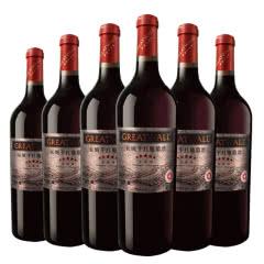 长城红酒中粮长城五星葡萄酒赤霞珠干红 750ml(6瓶装)红酒整箱