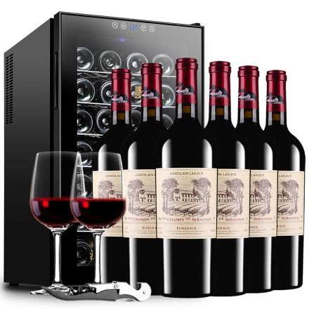 拉斐香榭城堡干红葡萄酒法国进口红酒AOP级红酒整箱礼盒装750ml*6