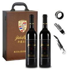 澳大利亚原瓶进口乔睿庄园M18西拉子干红葡萄酒750ml*2