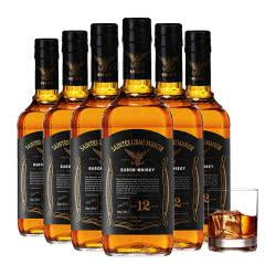 40度法国圣斯里堡庄园博瑞威士忌 洋酒 威士忌整箱700ml(6瓶)
