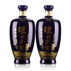 52°泸州老窖头曲蓝花瓷升级版1000ml(双瓶装)