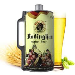 德国风味啤酒 2L桶装白啤 麦香原浆精酿 2000ml畅饮桶