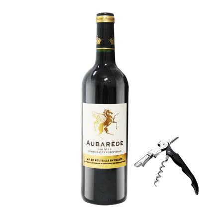 法国澳巴锐德干红葡萄酒750ml