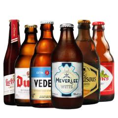 比利时进口精酿啤酒6瓶组合 白熊 督威 乐蔓 马里斯组合