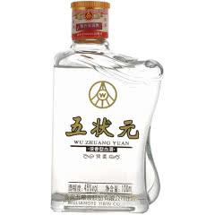 45°五粮液股份公司出品 五粮小酒 浓香型小酒版  五状元绵柔酒100ml