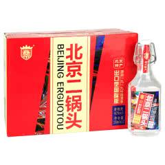 42度鑫帝牌北京二锅头出口型白酒330ml(12瓶装)