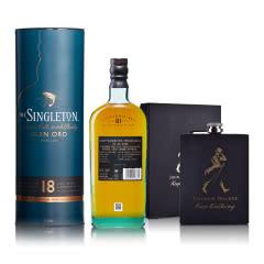 40°英国苏格登格兰欧德18年单一麦芽苏格兰威士忌700ml+酒壶
