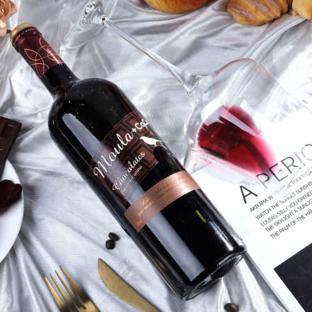 慕拉(MOULA)巧克力红酒葡萄酒 香醇不甜腻 750ml