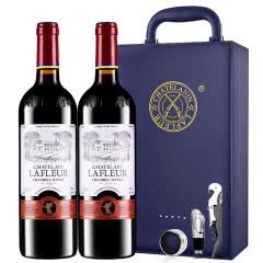 法国进口红酒天使葡园干红葡萄酒双支红酒礼盒装750ml*2