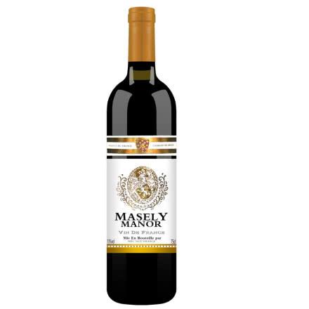 法国原瓶原装进口红酒 珍藏干红葡萄酒750ml
