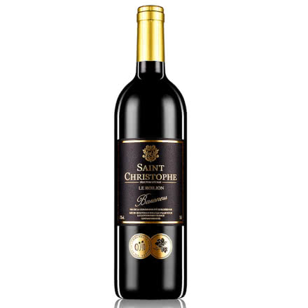 法国红酒(原瓶进口)波尔多AOC法定产区圣斯塔菲干红葡萄酒750ml